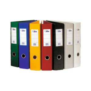 Папка-регистр, цвет зеленый А4, шир. 5см