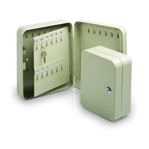 Шкафчик для 20 ключей, металлический, настенный, размер 200x160x75мм