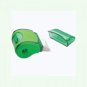 Точилка пластиковая с резинкой (ассорти)